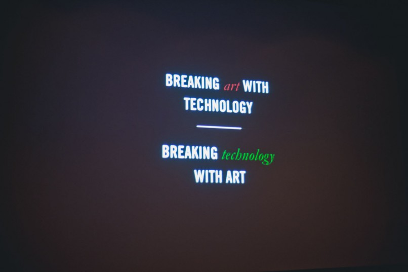 Breaking Art With Technology